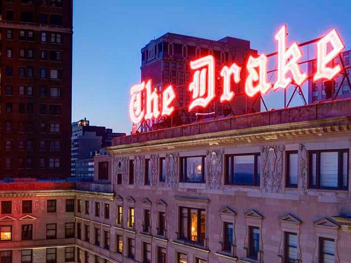 chicago's grande dame - the drake hotel